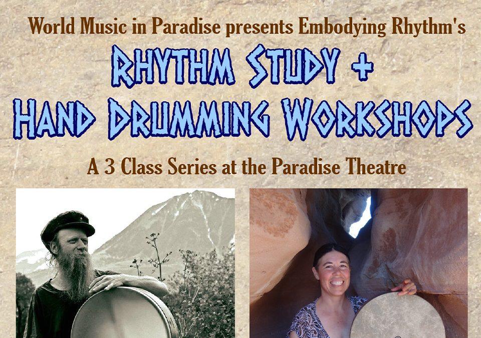 Rhythm Study and Hand Drumming Workshops