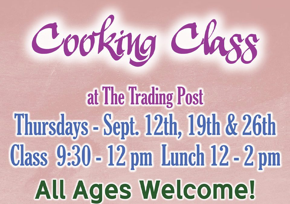 Fall Cooking Class