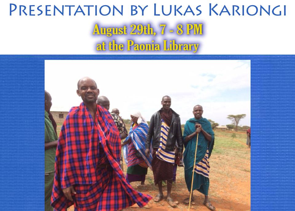 Lukas Kariongi Presentation featured image