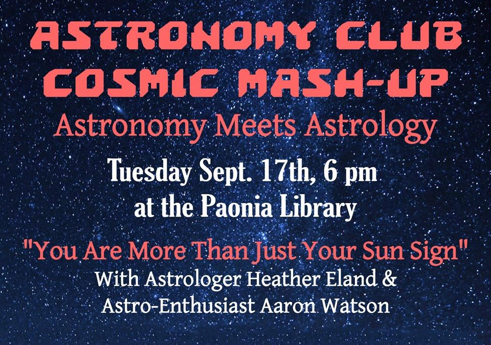 Astronomy Club Monthly Mash-Up