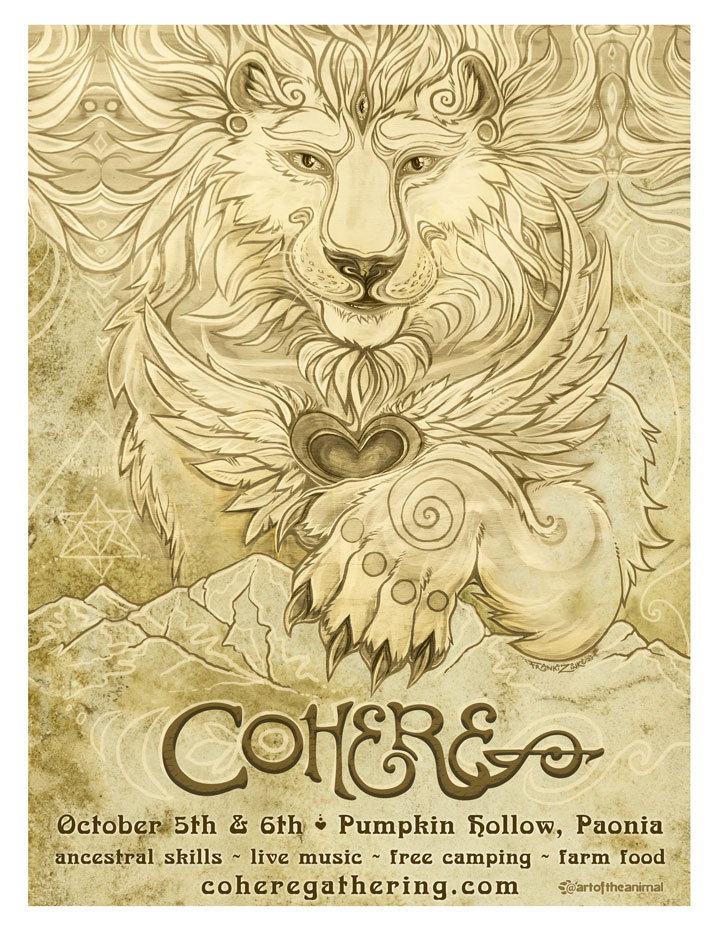 Cohere Festival poster