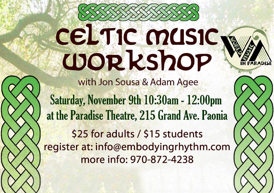 Celtic Music Workshop