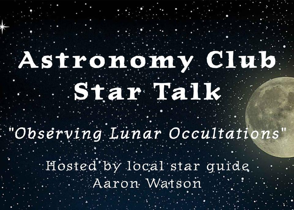 Astronomy Club Star Talk