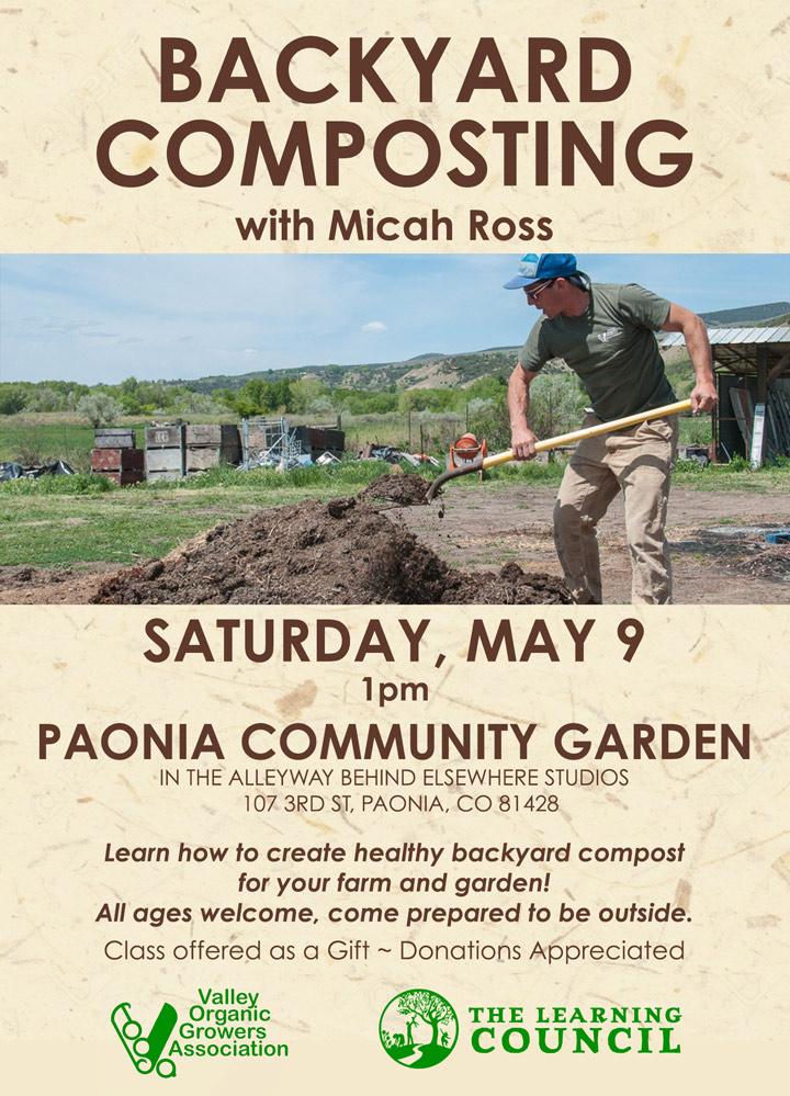 Backyard Composting poster