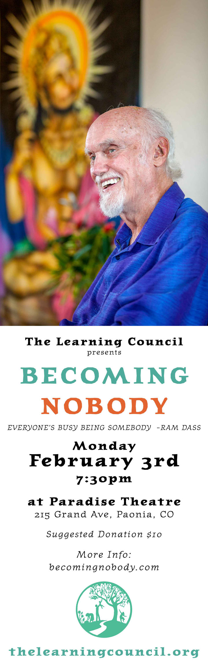 Becoming Nobody poster