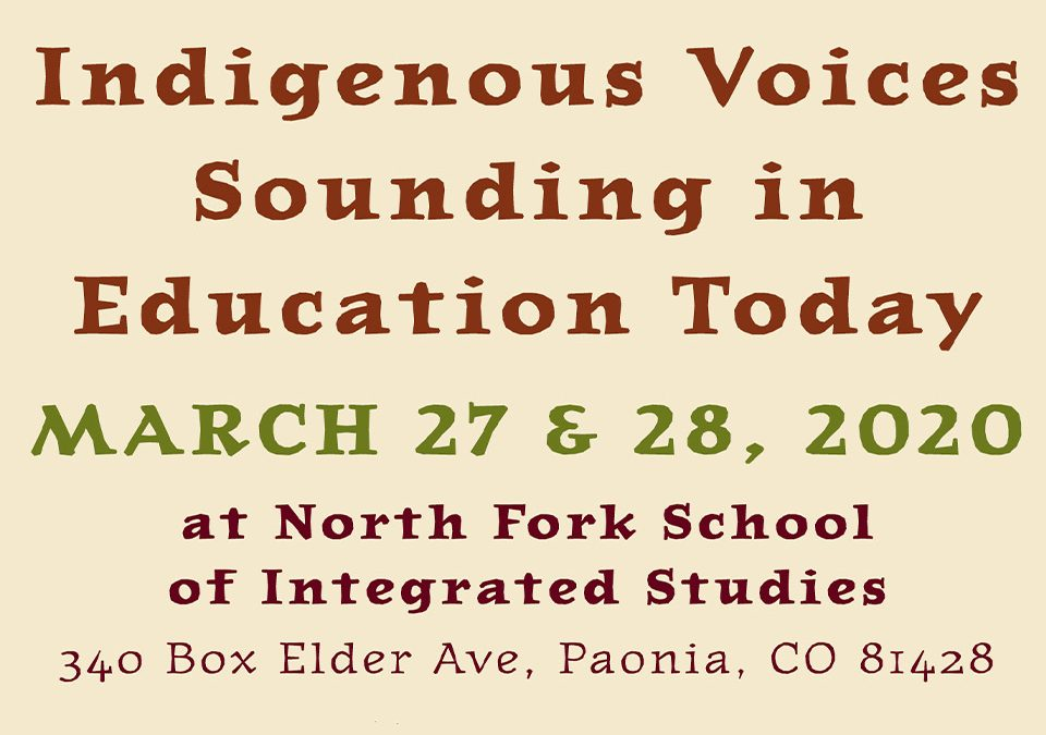 Indigenous Voices – Education Conference