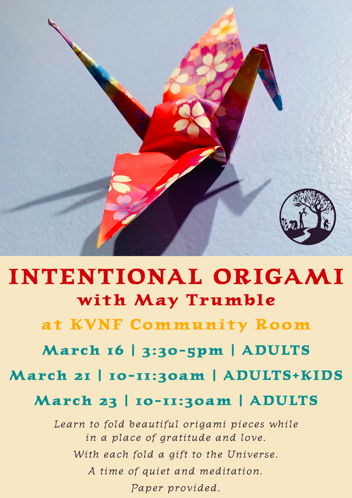 Intentional Origami poster