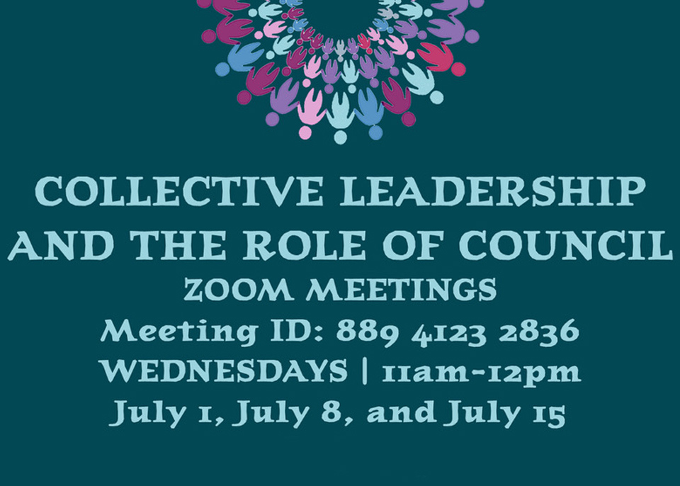 Collective Leadership and the Role of Council