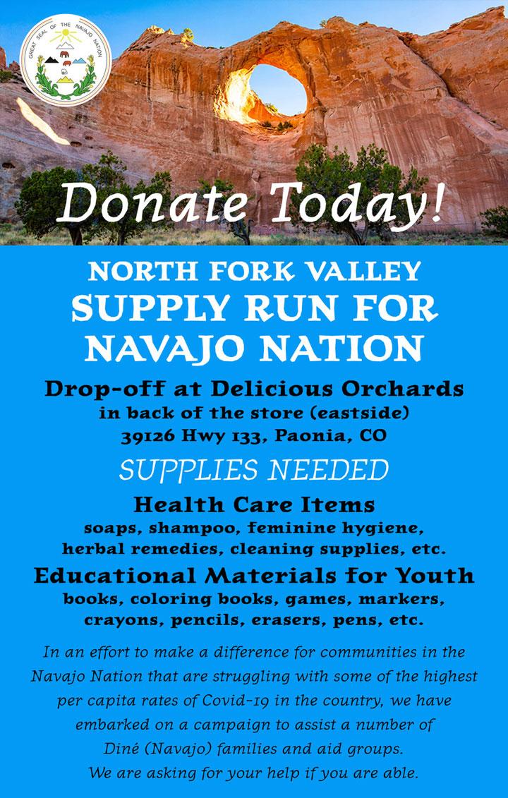 Supply Run for Navajo Nation poster
