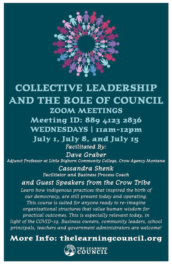 Collective Leadership poster