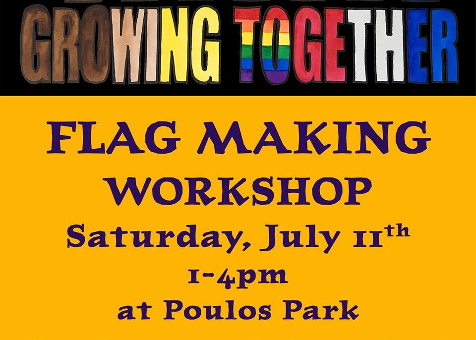 Flag Making Workshop