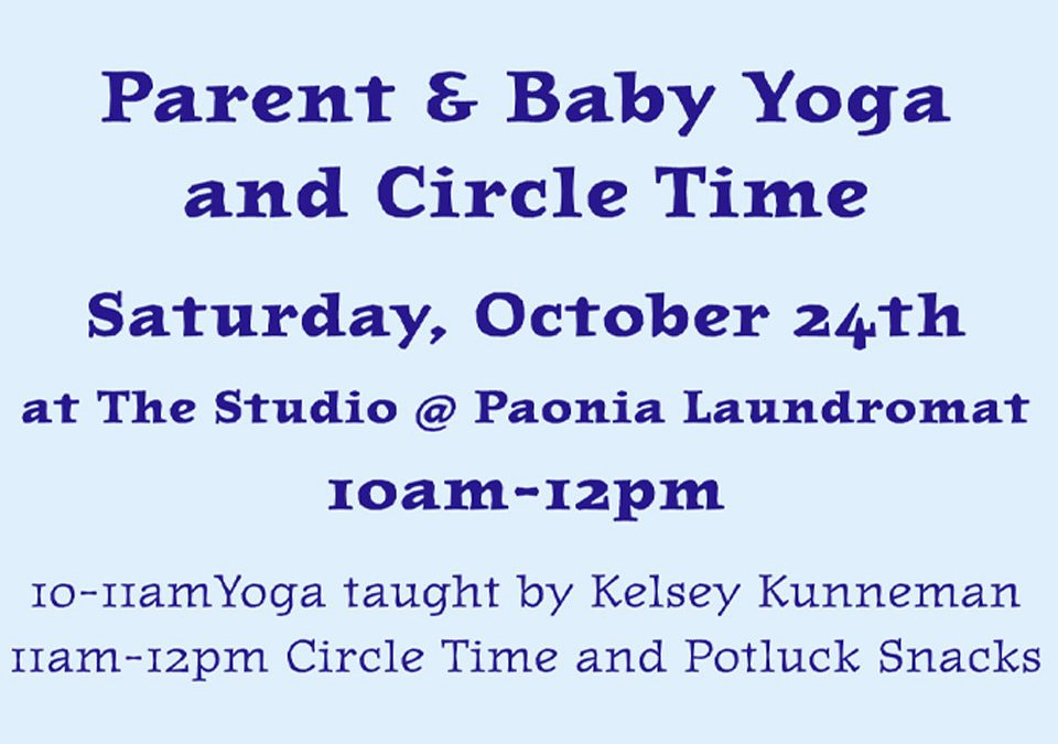 Parent and Baby Yoga and Circle Time
