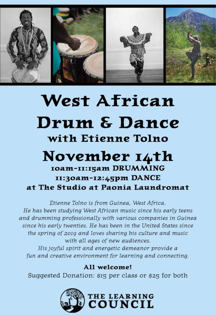 West African Drum and Dance poster
