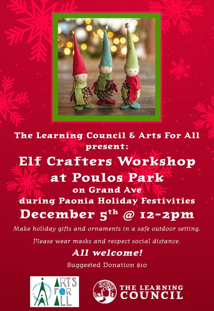 Elf Crafters Workshop poster