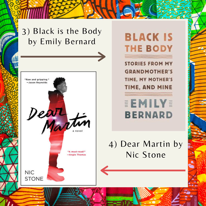 Black History Month books Bernard and Stone
