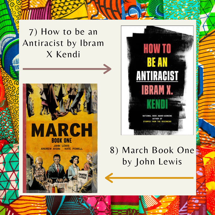 Black History Month books Kendi and Lewis