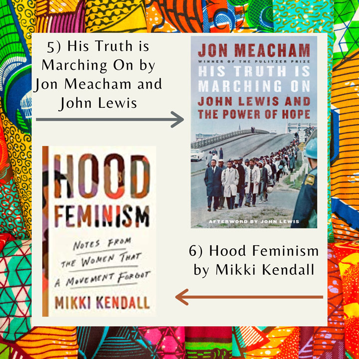 Black History Month books Lewis and Kendall