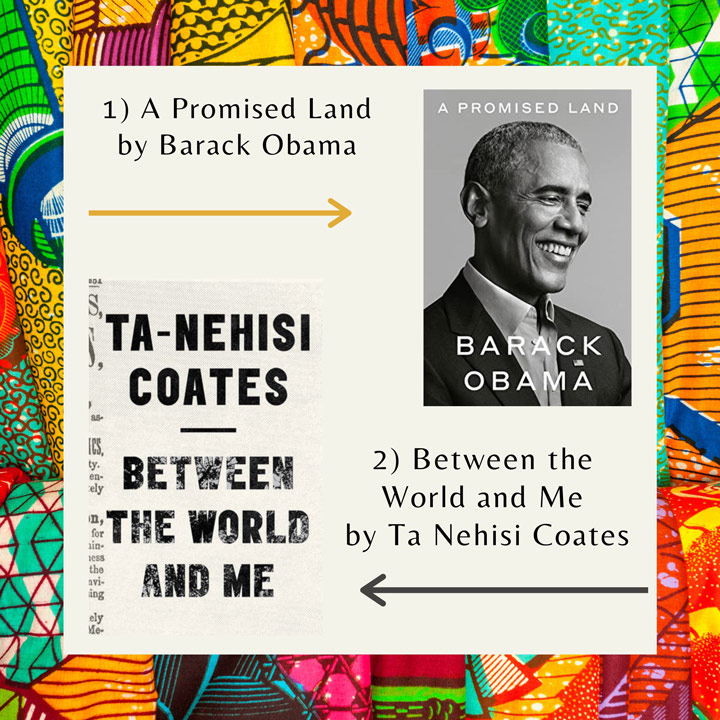 Black History Month books Obama and Coates
