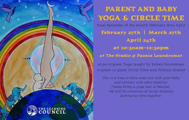 Parent and Baby Yoga poster