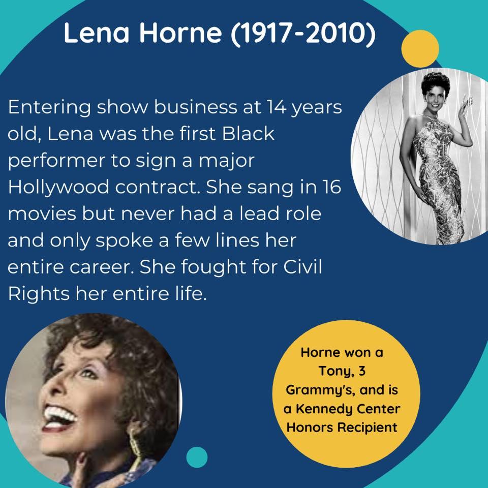 Black Female Artists Lena Horne