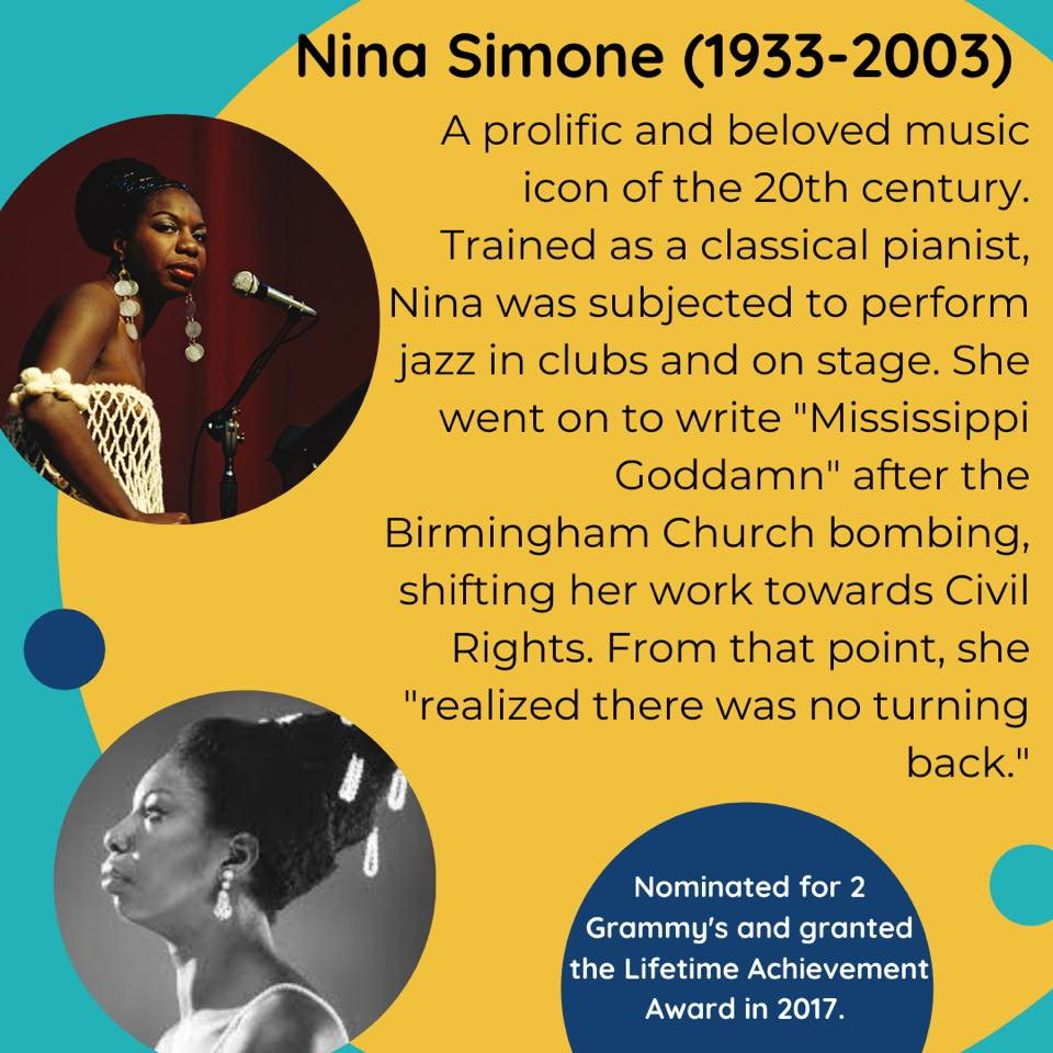 Black Female Artists Nina Simone