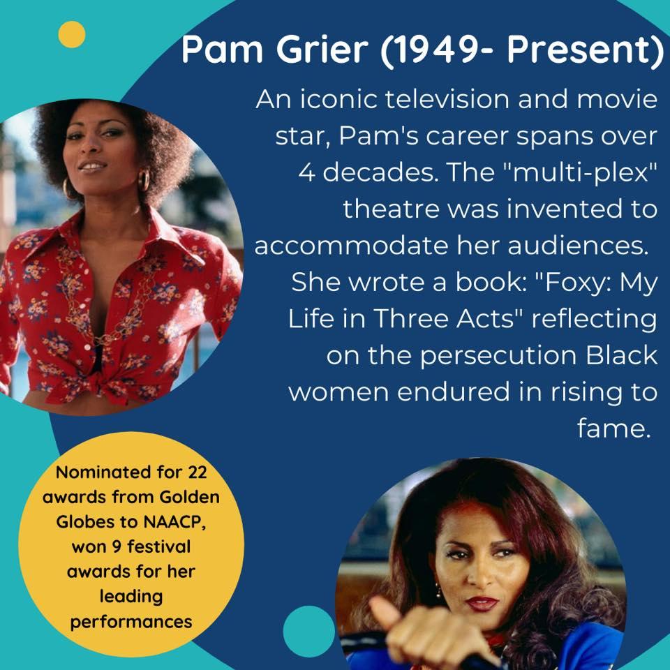 Black Female Artists Pam Grier