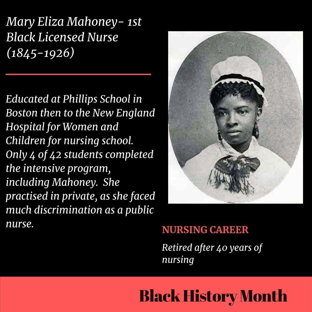 Black Medicine and Science Trailblazers Mahoney