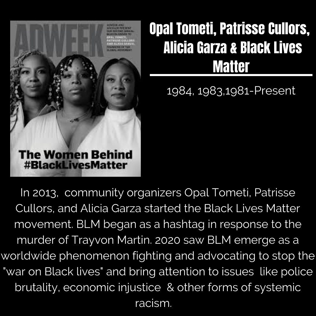Black Trailblazers - Activists - BLM