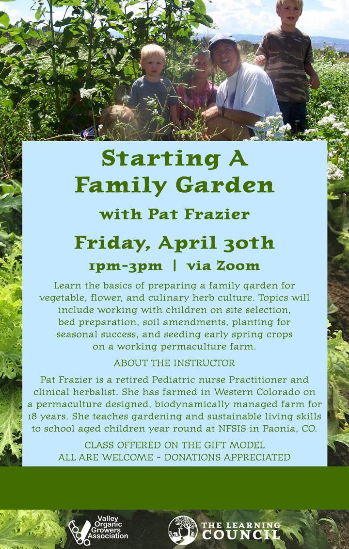 Family Garden poster