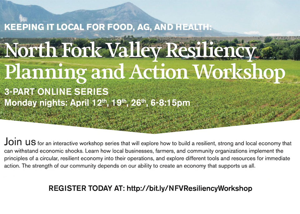 North Fork Valley Resiliency Planning and Action Workshop