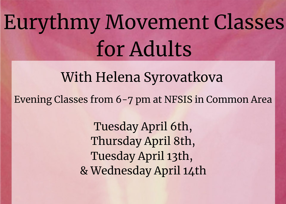 Eurythmy Movement Classes for Adults
