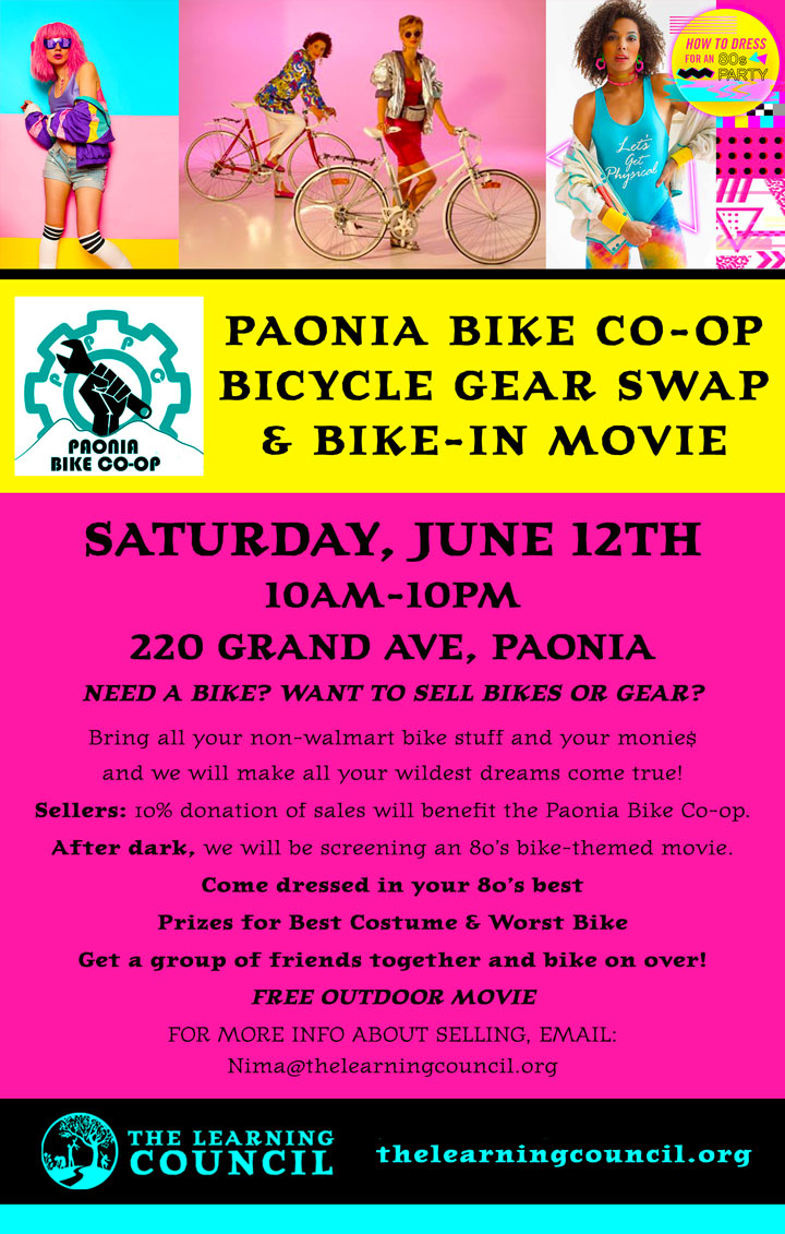 Bicycle Gear Swap poster