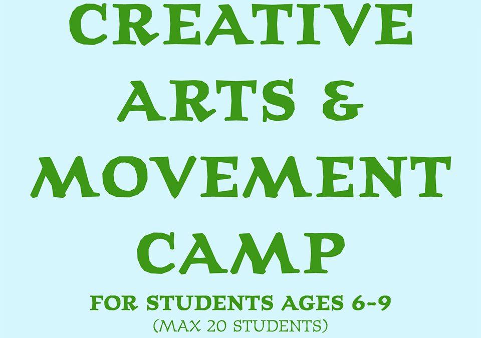 Creative Art and Movement Camp