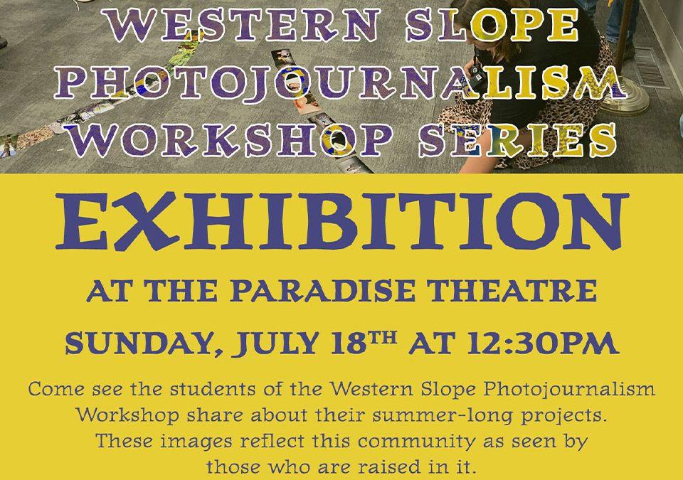 Photojournalism Workshop Exhibition