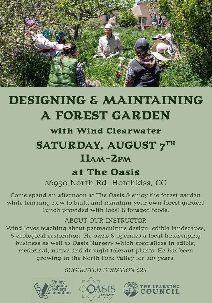 Forest Garden poster