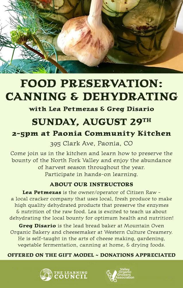 Food Preservation poster