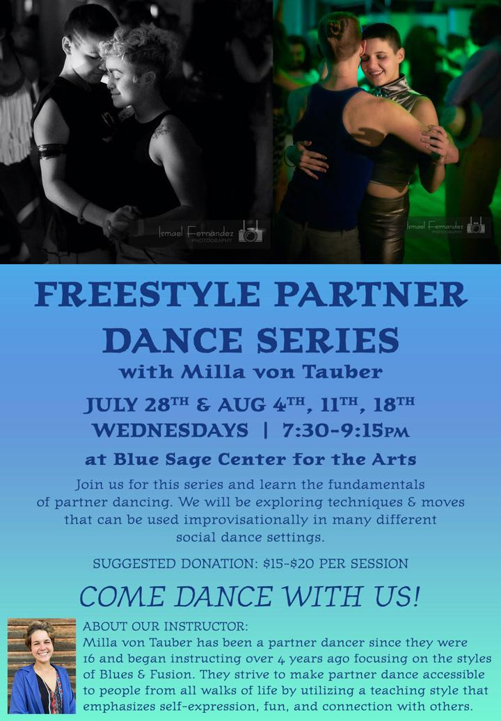 Freestyle Partner Dance poster