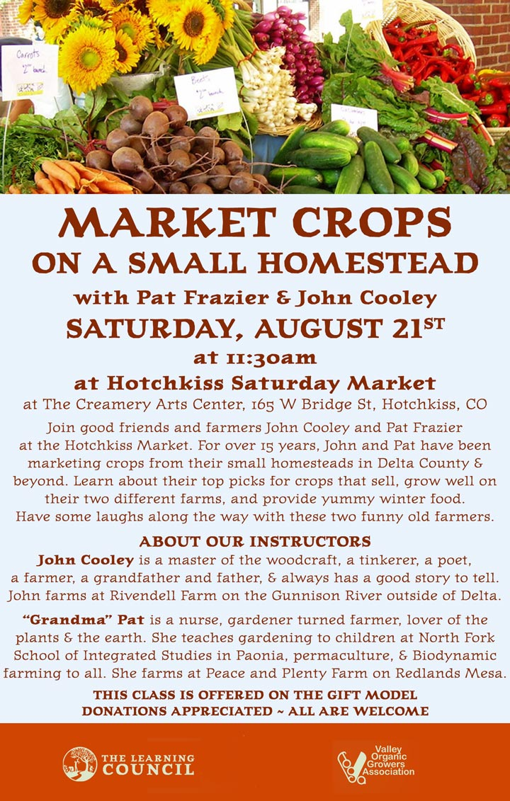Market Crops poster