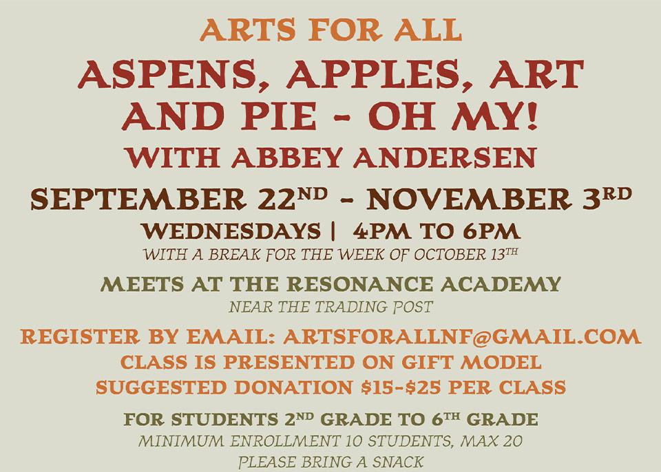 Aspens Apples Art