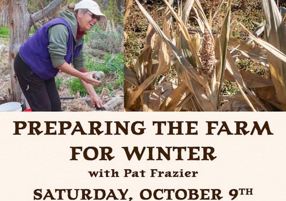 Preparing the Farm for Winter