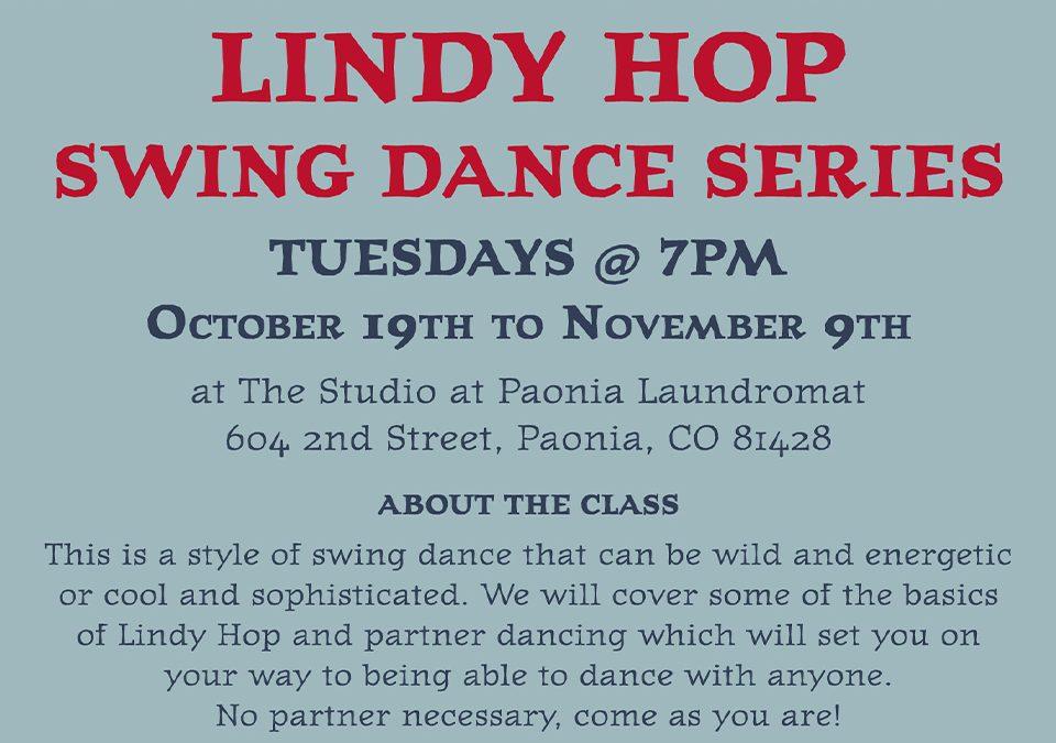 Lindy Hop – Swing Dance Series