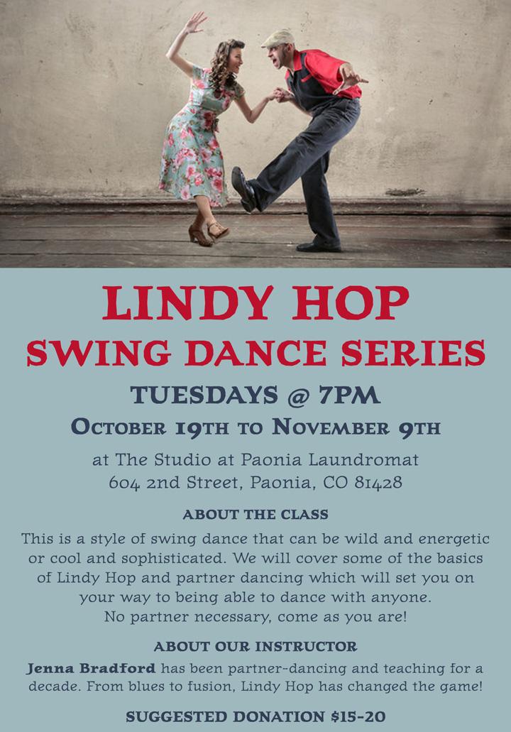 Lindy Hop poster